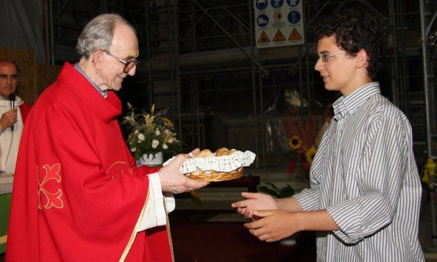 L'omelia del 50esimo di sacerdozio di Don Sante