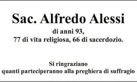 In Memoria : Sac. Alfredo Alessi