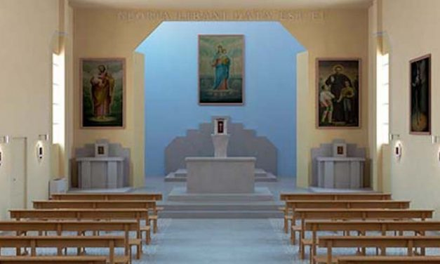 Restaurata la chiesa di Maria Ausiliatrice a El Houssoun