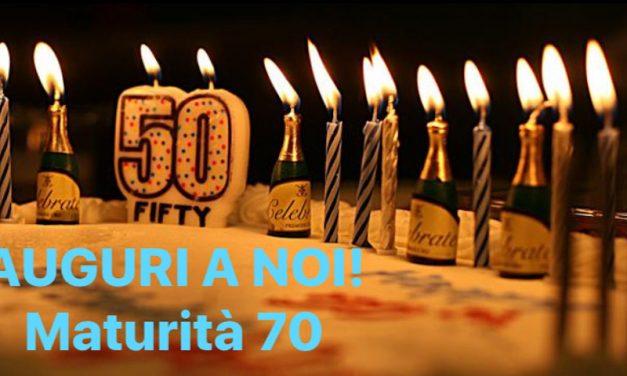 """1970 – 2020 : Un COMPLEANNO SPECIALE PER TUTTI NOI """"ragazzi del 70"""""""