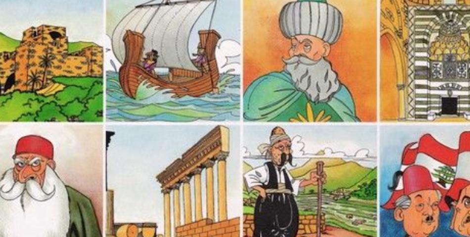 La storia del Libano in Immagini