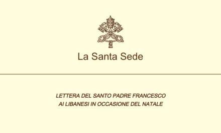 Francesco e la Lettera ai Libanesi