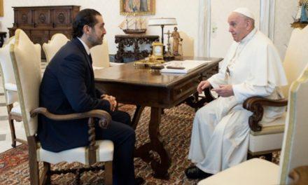 Il Papa, Hariri ed il Libano