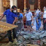 La chiesa di San Giuseppe a Beirut riaprirà dopo l'esplosione del 2020